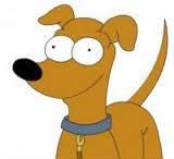 Où ont-ils trouvé leur chien Petit papa noël ?