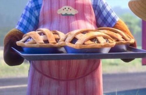 Dans quel grand classique Disney peut-on voir ces tartes ?