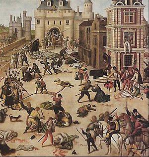En quelle année a eu lieu le massacre de la Saint-Barthélemy ?