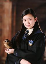 I am Harry's first girlfriend and i belong to ravenclaw.