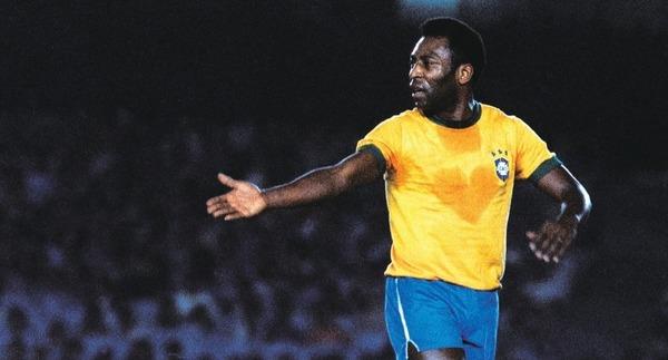 Pelé aura marqué 100 buts tout pile pour La Seleção.