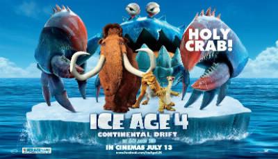 """En quelle année est sorti le film """" Ice Age 4 (L'Age de Glace 4)"""" ?"""