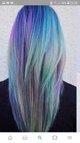 Quelle coloration (pour cheveux) n'a-t-elle pas fait ?