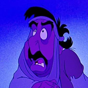 Quel est le nom de ce personnage dans Aladdin ?