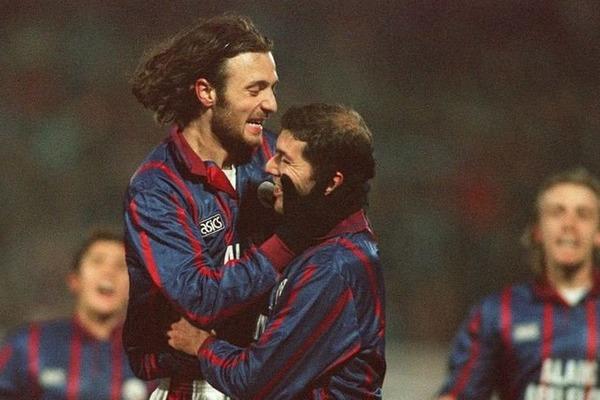 Quart de finale retour de la Coupe UEFA 1996, après une défaite 2-0 à l'aller, sur quel score les Girondins renversent-ils l' AC Milan ?