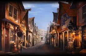 Quel est l'endroit où l'on peut trouver plusieurs magasins de magie ?