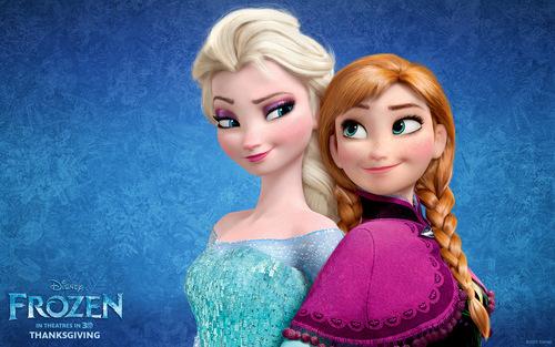 Vrai ou faux ? Elsa à le pouvoir de la glace et Anna à le pouvoir du feu.