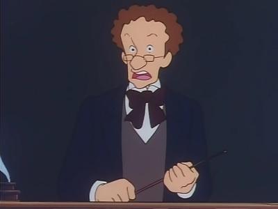 De qui Mr Dobbins est-il l'instituteur ?