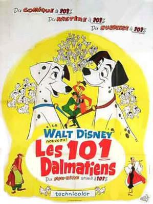 """En quelle année est sorti le film """"Les 101 Dalmatiens (1ère version) ?"""