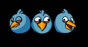 Quels sont les noms des oiseaux bleus ?