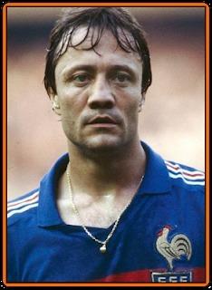 Bernard Lacombe faisait partie de l'effectif français lors du Mondial 86.