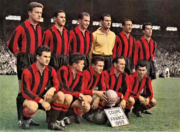Le 4 mai 1952, contre quelle équipe les niçois remportent-ils leur première Coupe de France ?