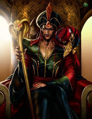 Comment s'appelle le méchant dans Aladdin?