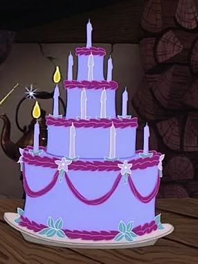 Este bolo parece estar bem preparado.... Lembra de qual filme é?