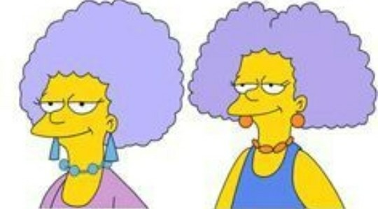 Comment s'appellent les soeurs jumelles de Marge ?
