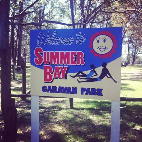 Who bought the Caravan Park off Tasha for Sally an Flynn?