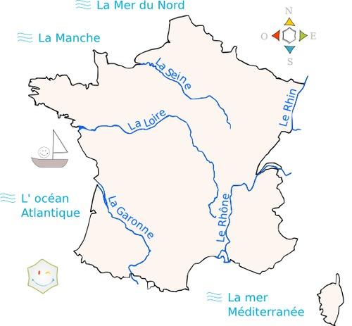 Combien y a-t-il de fleuves principaux en France ?