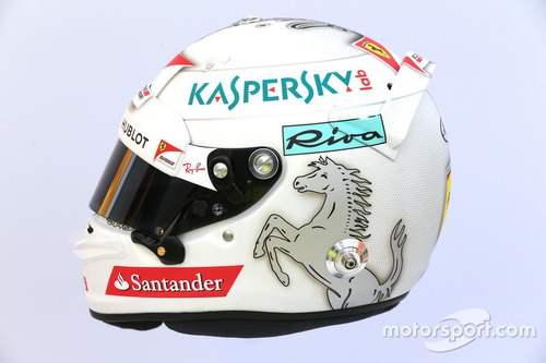 Welchem Fahrer gehört dieser Helm ? (unten)