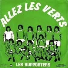 """Cette année-là, qui sort un 45 tours """"Allez les verts"""" qui deviendra l'hymne du club ?"""