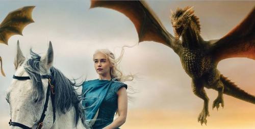 Lequel n'est pas un dragon de Daenerys ?