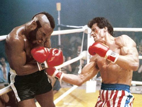 Dans quel film Sylvester Stallone affronte-t-il Mr T. ?