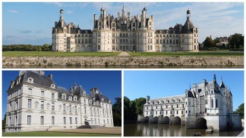 Dans quelle région de France trouve-t-on les châteaux les plus célèbres ?
