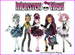 De quelle collection sont ces Monster High ?