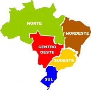 Em qual região brasileira está localizado o estado do Rio Grande do Norte?