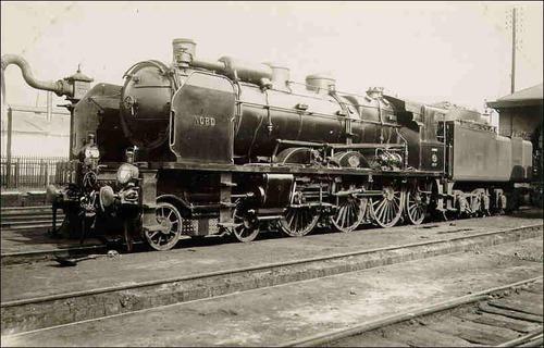 Comment s'appelle cette locomotive d'autrefois :