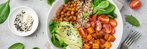 Le végétalien ne mange pas :