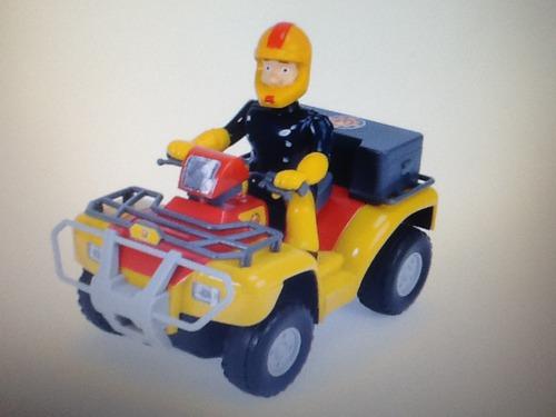 Comment s'appelle le quad de Sam le pompier ?
