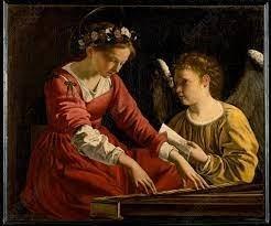Quelle sainte est la patronne des musiciens ainsi que des brodeuses ?