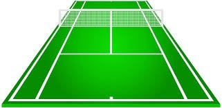 ................. a tennis court in Jean Rostand?