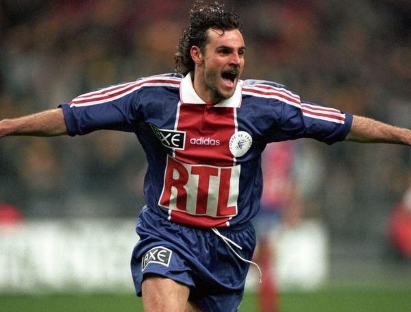 Le PSG est le premier club français de la carrière de Marco Simone.
