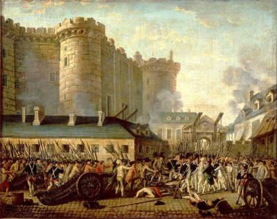 La prise de la Bastille a eu lieu :