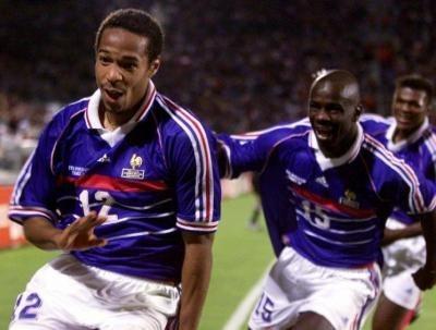 Contre quelle équipe Thierry Henry inscrit-il son premier but au Mondial 98 ?