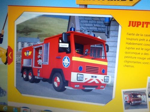 Le camion de pompiers de Sam ?