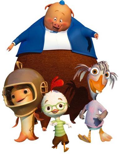 Ces personnages apparaissent dans un Disney.