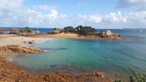 Cette très jolie plage, c'est…