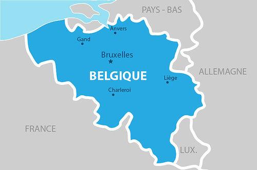 Quelle est la couleur la plus à gauche du drapeau belge ?