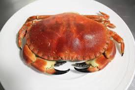 Pour acheter du crabe, je vais au rayon: