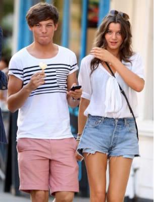 Comme s'appelle la copine de Louis ?