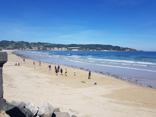 Cette plage, c'est…