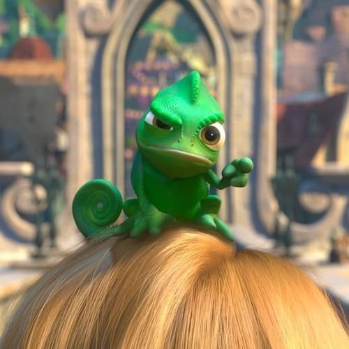 Disney - Raiponce cameleon ...