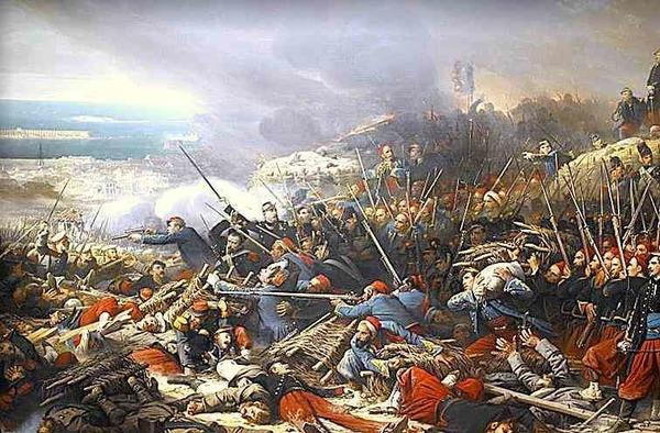 À quelle guerre la France a-t-elle été mêlée entre 1853 et 1856 ?