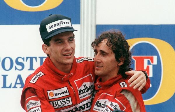 Dans quelle écurie de Formule 1, Alain Prost et Ayrton Senna ont-ils été coéquipiers ?