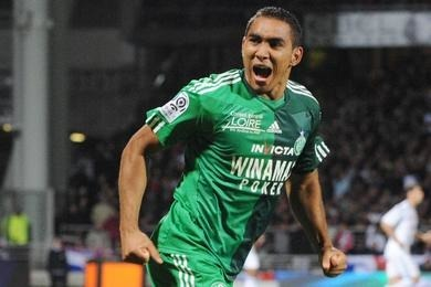 Dimitri Payet a été formé à Saint-Etienne.