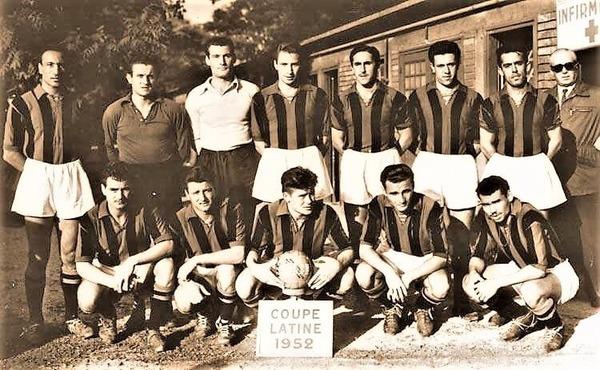 Cette même année (1952), les Aiglons réalisent le doublé Coupe/Championnat.