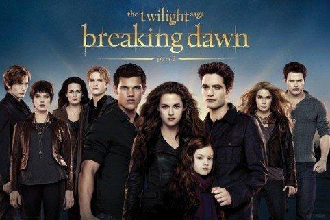 Combien y a-t-il de membres de la famille Cullen à la fin de la saga ?