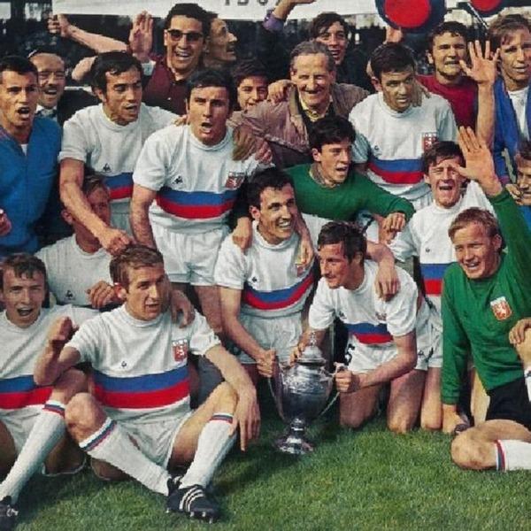 Quelle équipe les lyonnais battent-ils en finale de la Coupe de France 1967 ?